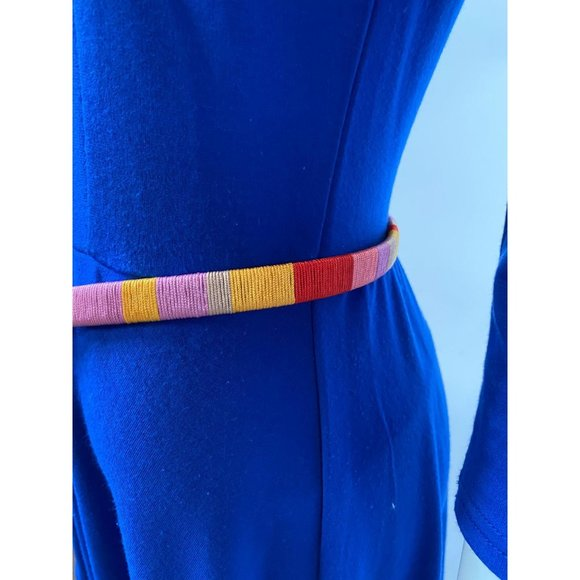 Thin and Colorful Leather Belt by JCrew